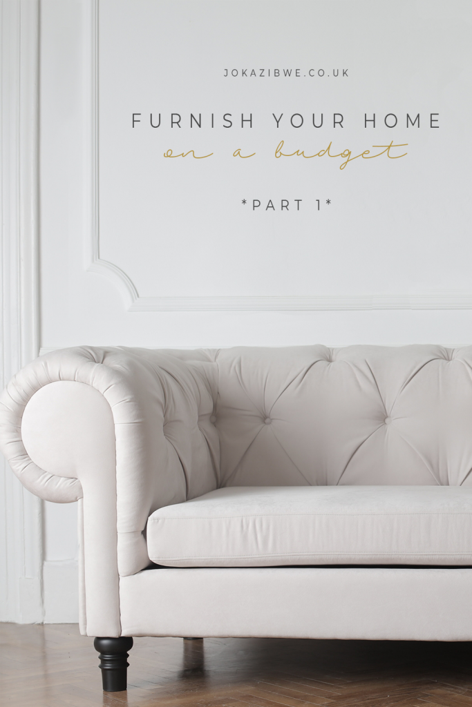 On a budget? Furnish your home while saving your coin